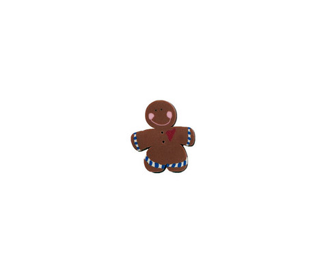 BOTTONE GINGERBREAD BOY