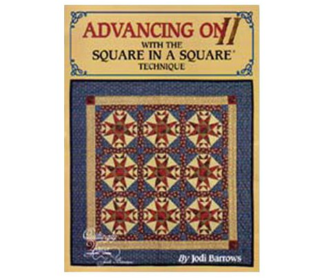 LIBRO PATCHWORK - ADVANCING ON II SQUARE IN A SQUARE